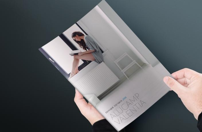 Diseño de catálogo y entidad corporativa