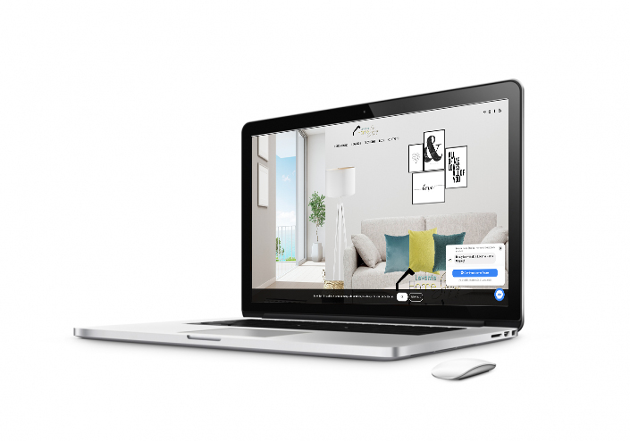 diseño web home staging
