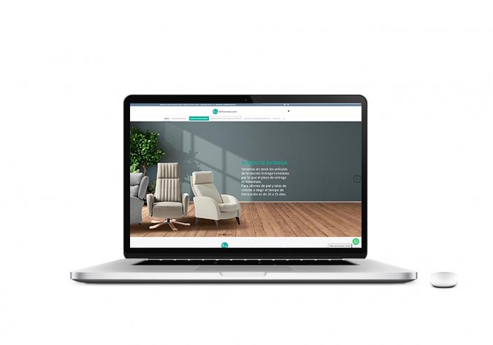 diseño web sillonrelax