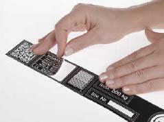 Plástico pre-adhesivo microrrevestido 2 capas