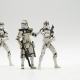 fotografía de juguetes star wars